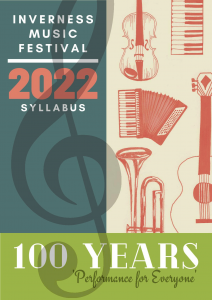 Winning Centenary Syllabus Design by Violet Matheson from Skye. Congratulations Violet.